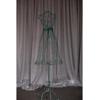 Dress form - Green wrought iron