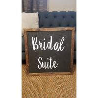 Chalkboard - Bridal Suite