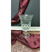Vase - Small Patterned Parfait Glass