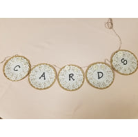 Sign - Cards Paper Lace Banner