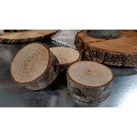 Wood Round - Rough Small Cookie