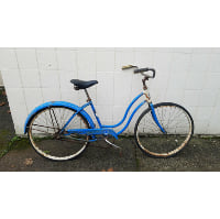 Bike - Blue retro
