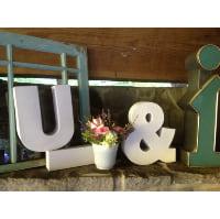 Letter Block - U