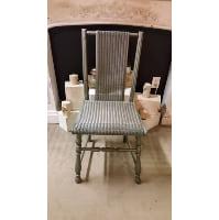Chair - Wicker Grey