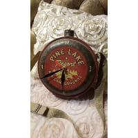 Water can - Vintage Clock pine lake