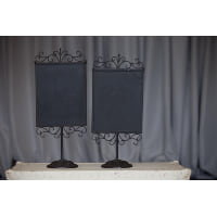 Chalkboard - Denton Vertical tabletop
