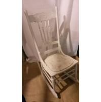 Chair - White Rocking