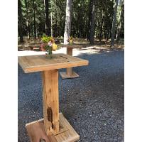 Bistro Table - Rustic Square Top