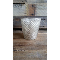 Vase - Gold Mercury Knobby