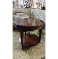 Side Table - Two Tier Brown