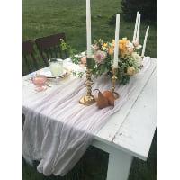 Table - Jimmy Plank Farm White