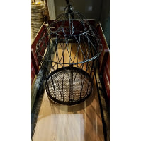 Birdcage - Ginny wrought Iron