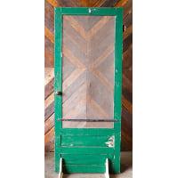 Door - Green Screen Brass Knob