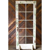 Door - Brown/Green 10 Glass Pane