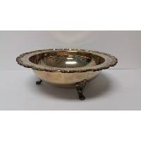 Silver - Medium Bowl Three Footed