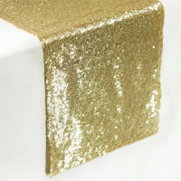 Runner - Champagne sequin