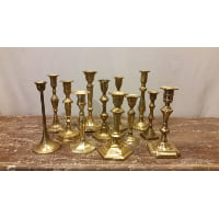 Candlestick - Brass Medium Assorted
