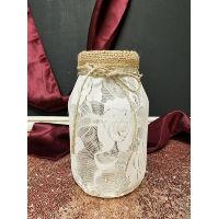 Mason Jar - Full Lace Quart