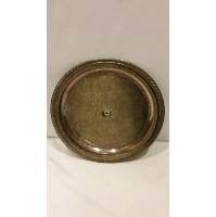 Tray - Silver Round Center Hole