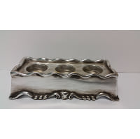 Candle Holder - Silver Three Candle