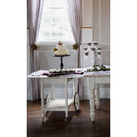 Table - Scalloped Edge Tea Cart