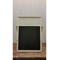 Chalkboard - Scalloped Header Cream Easel