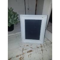 Chalkboard - White frame small