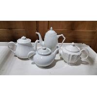 Teapot - White Assorted