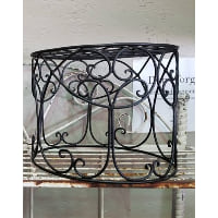 Riser - Medium wrought iron black