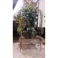 Arch - Wrought Iron Bench