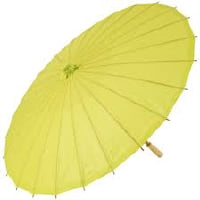 Parasol -Paper - Light Yellow