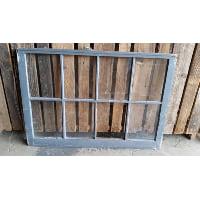Window - Grey/Brown 8 Pane
