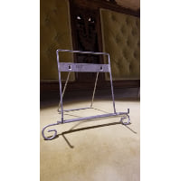 Easel - Small Silver Square Tabletop