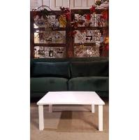 Table - White Ottoman