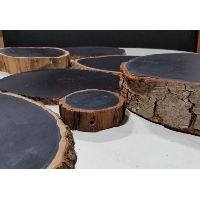 Chalkboard - Assorted Wood Round