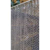 Lace - Light Blue Curtain Panel