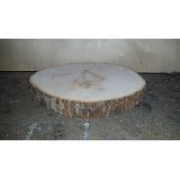 Plate - Log Round Bark 14