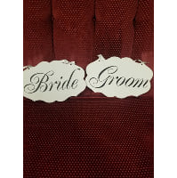 Sign - Card stock Bride/Groom thank you