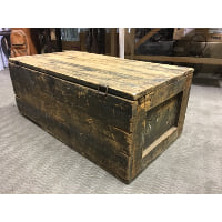Trunk - Wood Box