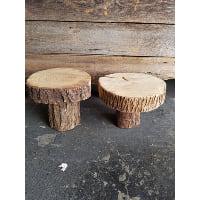 Pedestal - Log Round 10