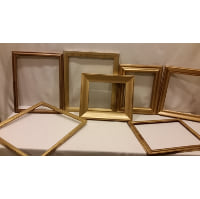 Frame - Assorted Gold Medium Empty