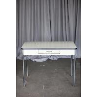 Table - White Metal w/Enamel Top