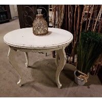 End Table - Small White