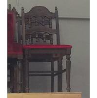 Chair - Abby Burgundy Seat