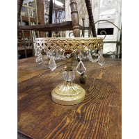 Pedestal - Small Gold Crystal Ball