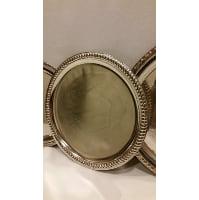 Tray - Silver Round Small 11