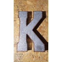 Letter - K Metal