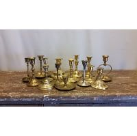 Candlestick - Brass Small Assorted