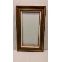 Frame - Gold/Green/White Medium Empty