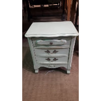 Nightstand - Mint Green